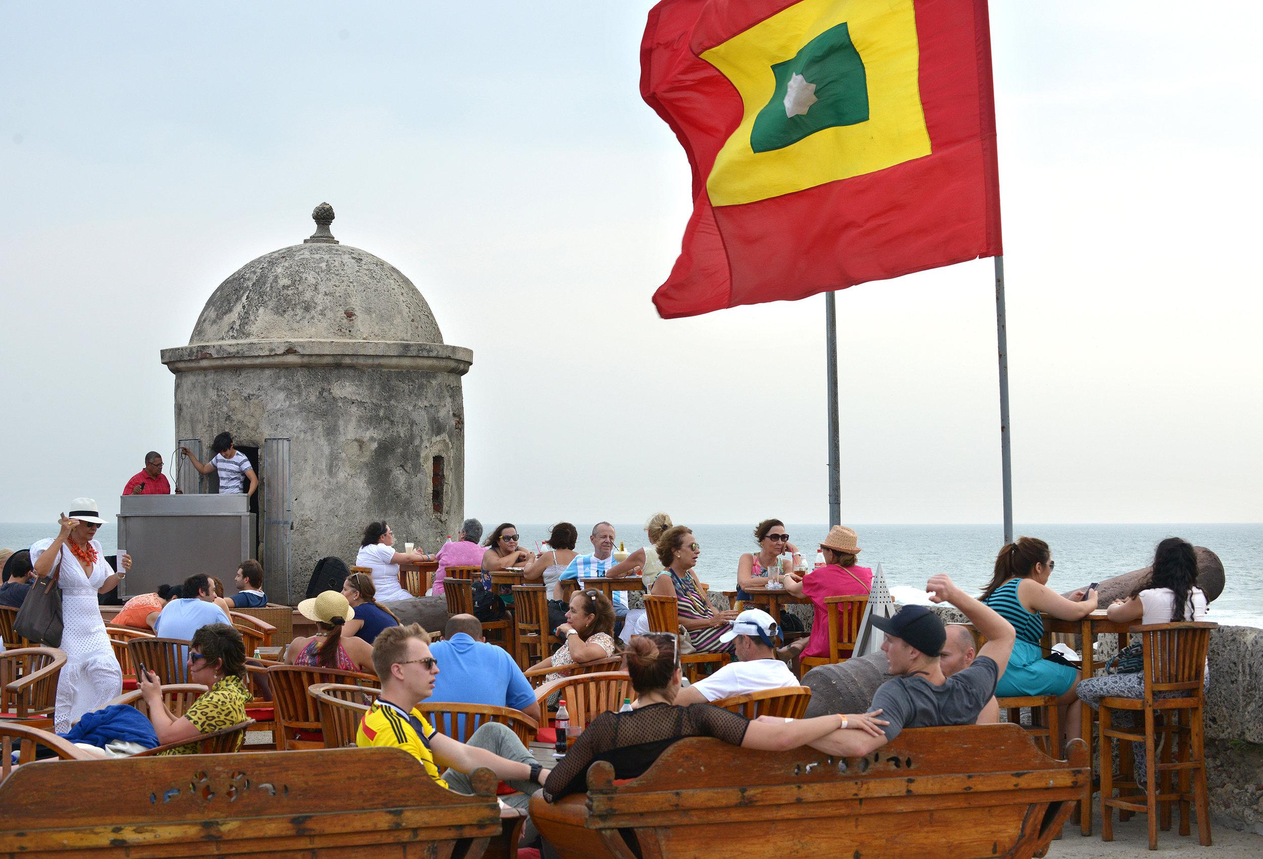 Cafe del Mar, Cartagena