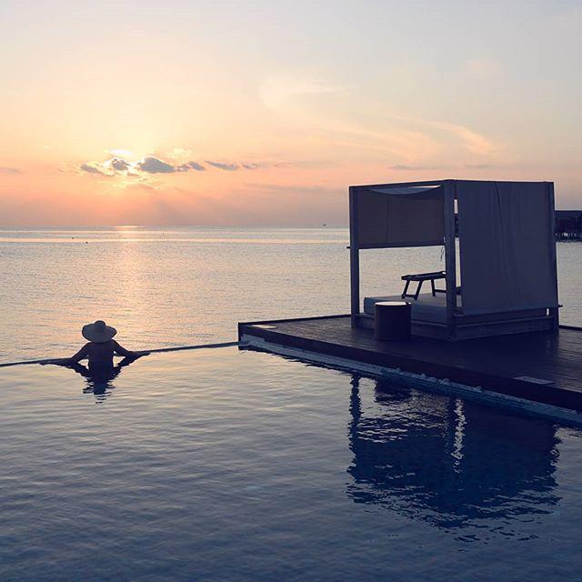 Allas jossa ei malta uida. 🌞 #matkallaolenonnellinen #lomafiilis #malediivit
