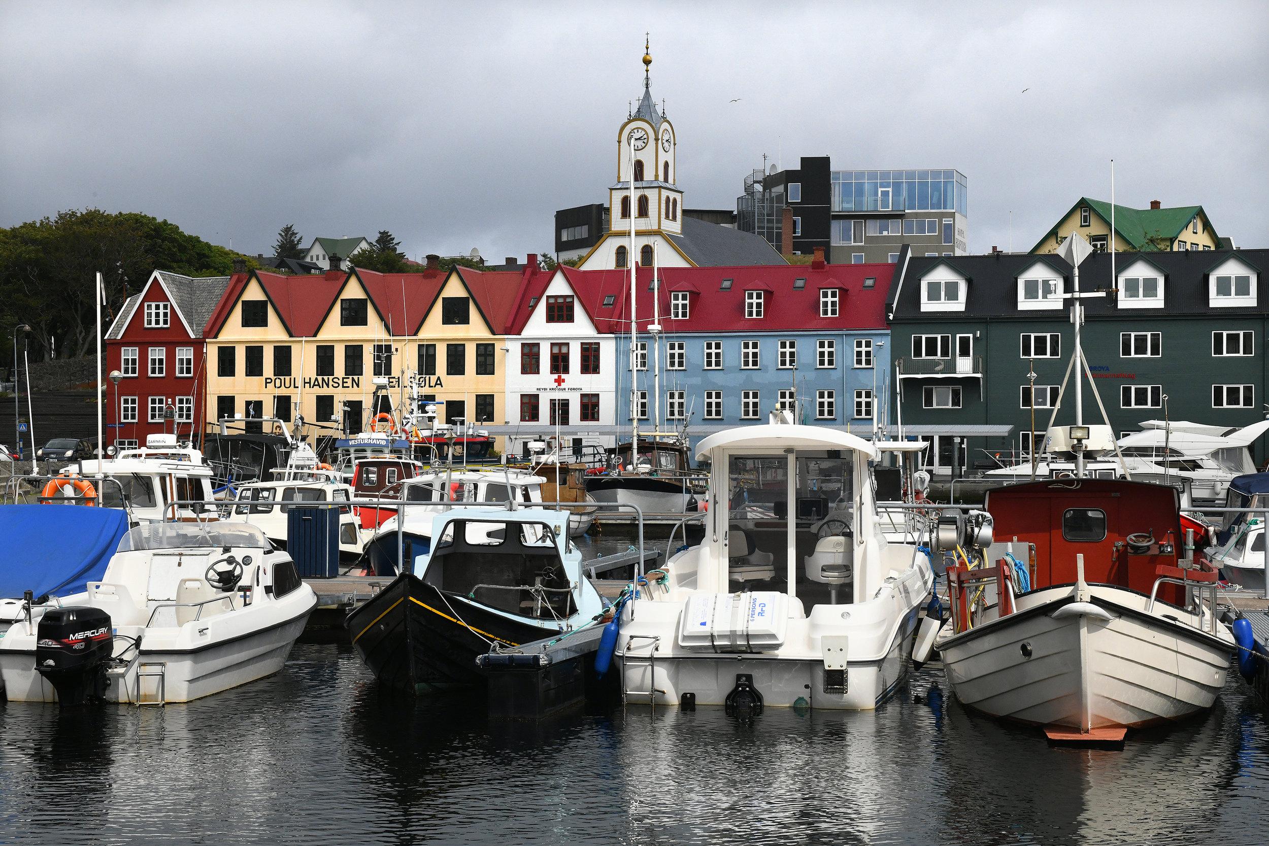 Färsaaret, Tórshavn, pääkaupunki