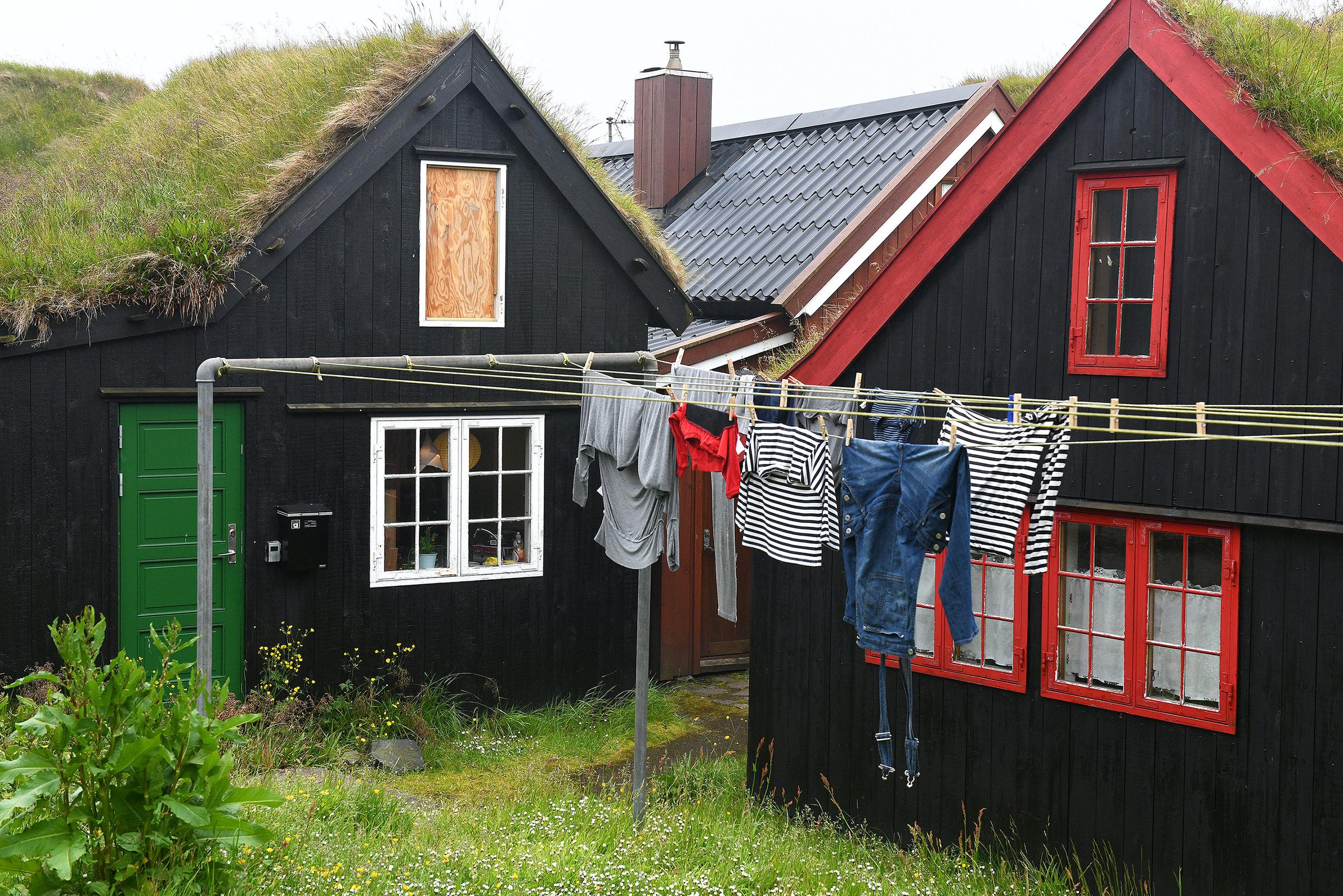 Färsaaret, Torshavn, vanhakaupunki