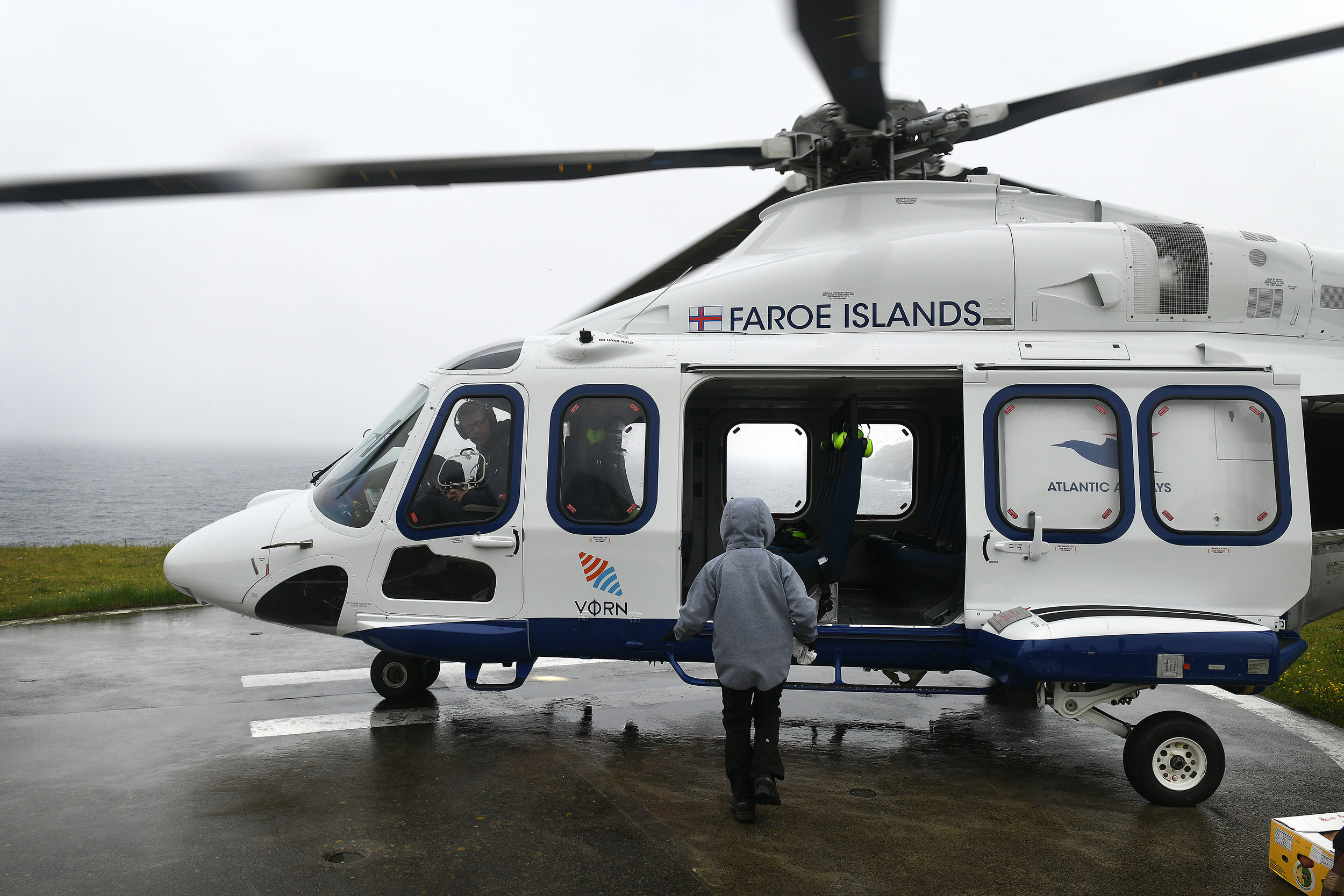 Helikopteri, Färsaaret