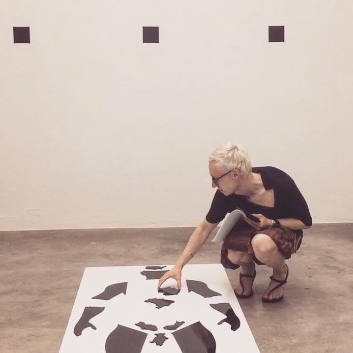 AVENIR INSTITUTE, 'Imperialism post-ex-ante', installation/lecture-performance, Projeto Fidalga, Sao Paulo, Brazil (2017)