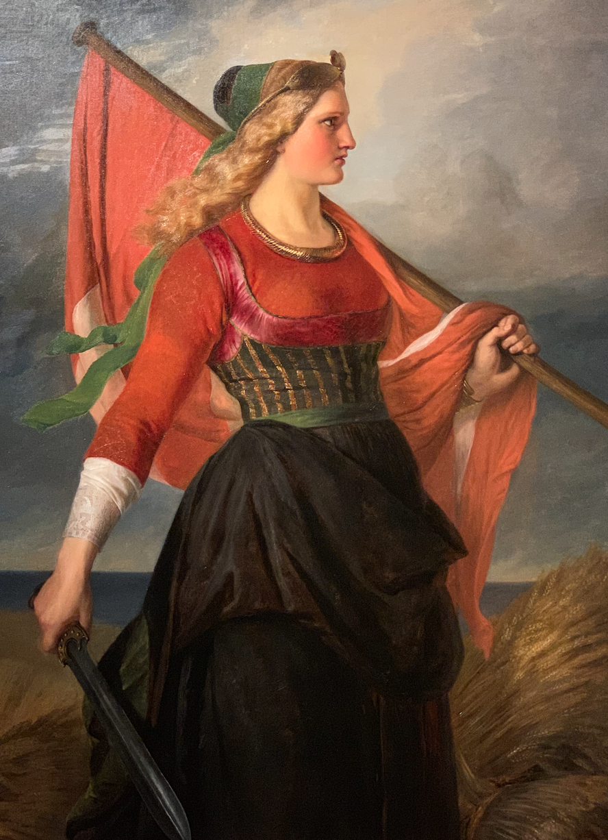 "Elizabeth Jerichau-Bauman, ""Mother Denmark"", 1851 (Glyptoteket Museum, Copenhagen, DK)"