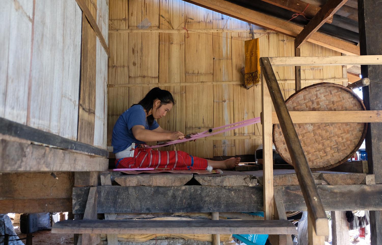 Ban Pha Mon Karen Hill Tribe village