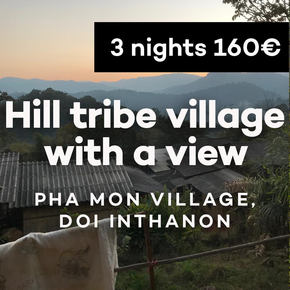 ban pha mon doi inthanon hill tribe