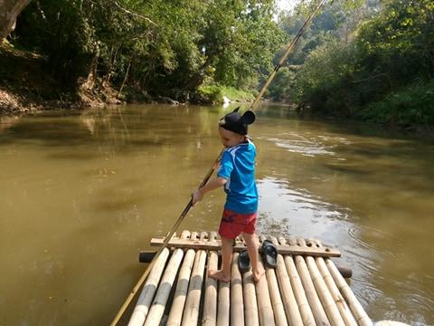 Iina's son in Tung Lakorn, Thailand