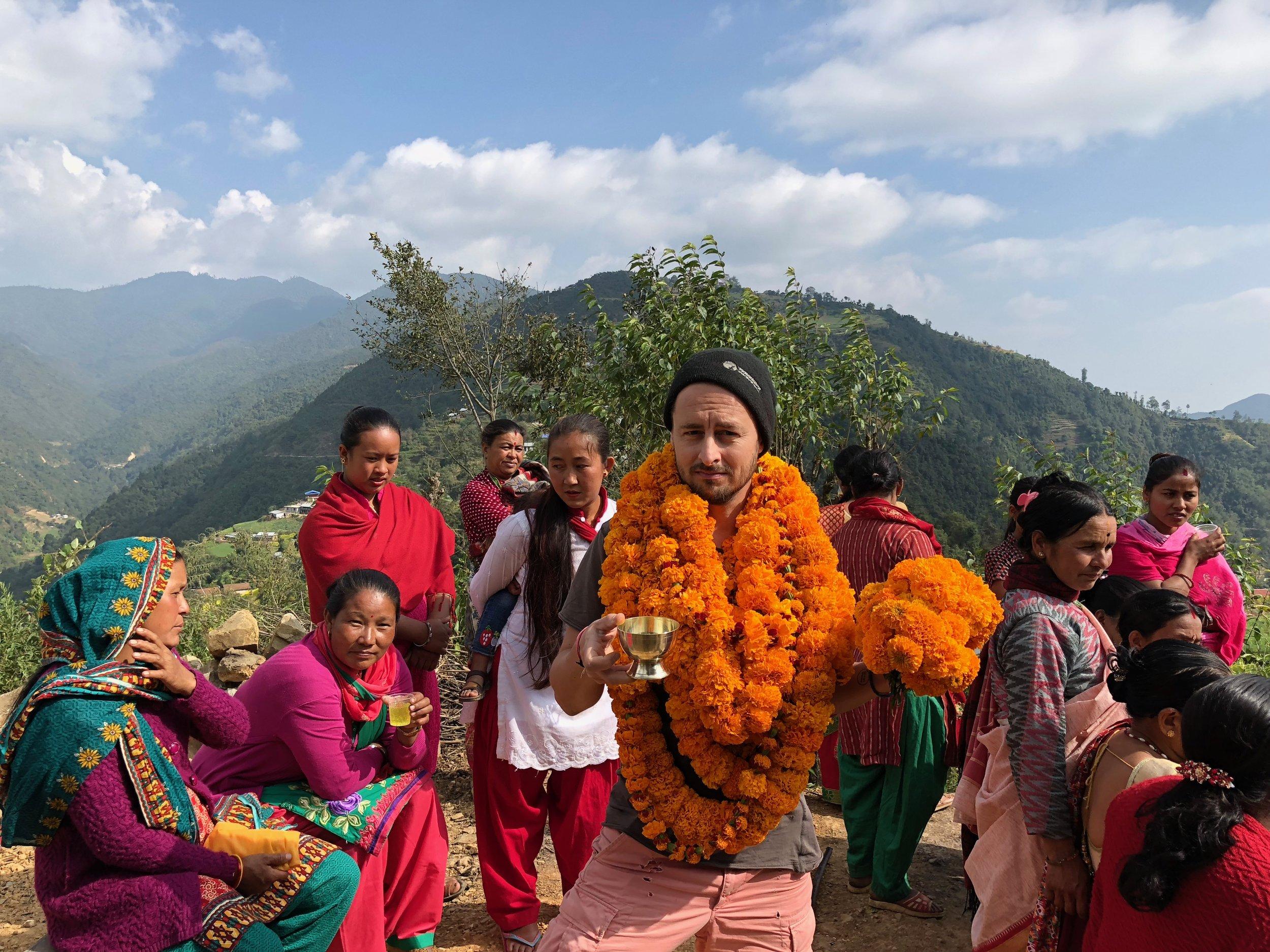 Manikhel welcoming kathamndu valley trekking nepal weather.jpg