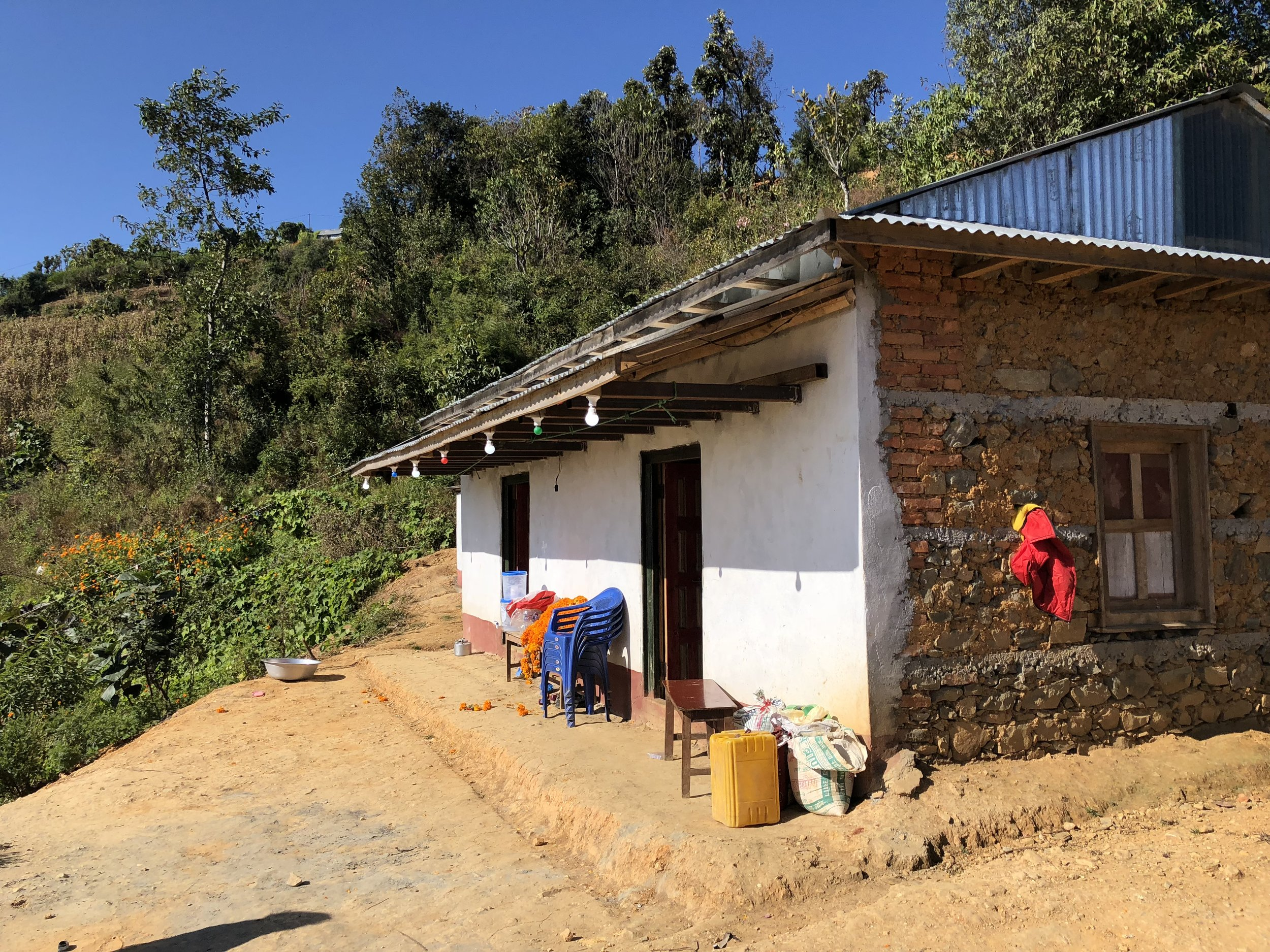 Hira Maya's house Manikhel kathmandu valley homestay.jpg