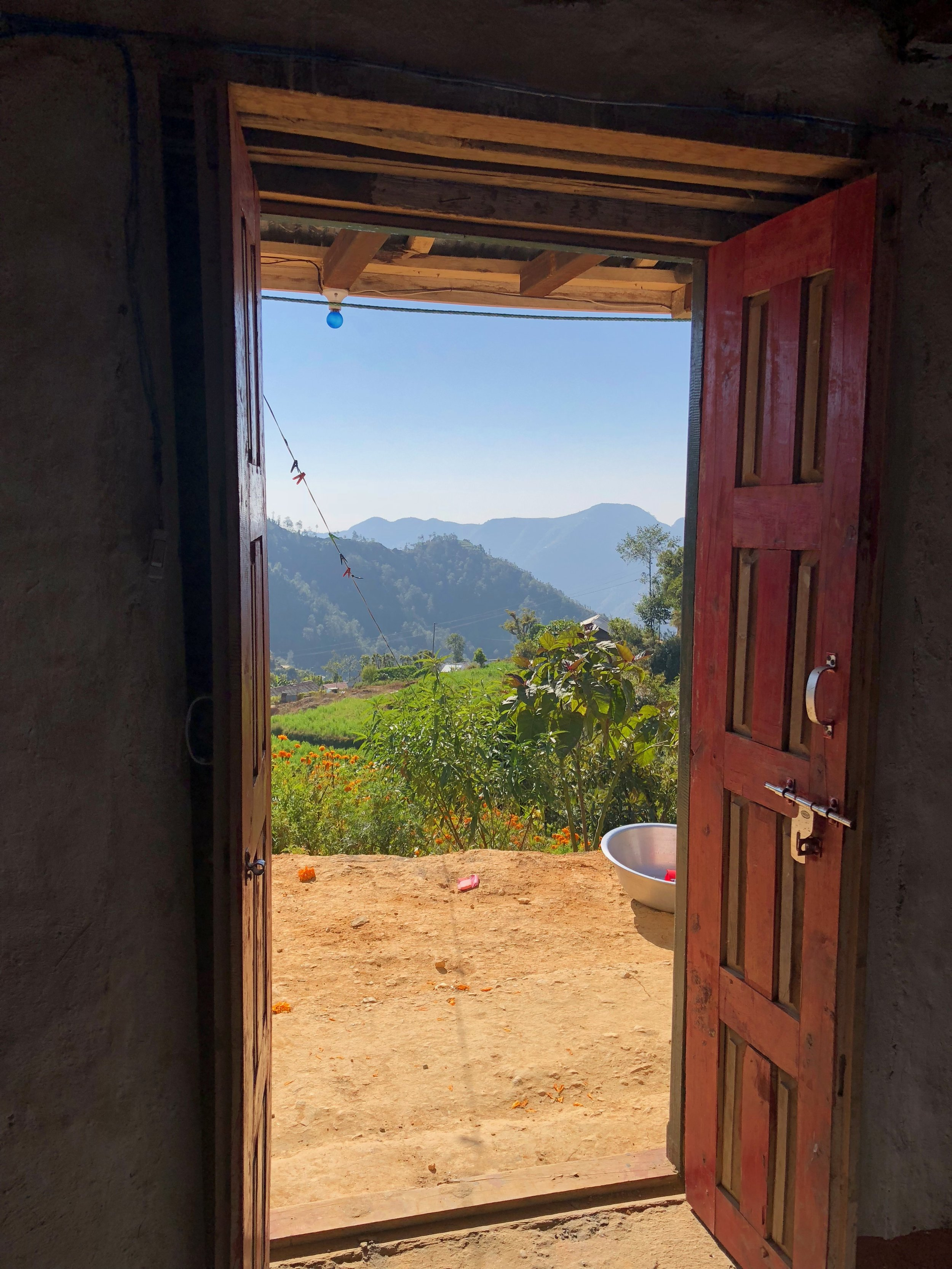 view from hiramaya homestay manikhel nepal nepal kathmandu valley nepal trekking weather homestay.jpg