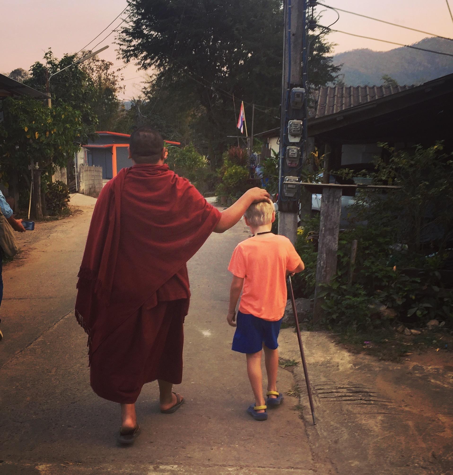 Tung Lakorn village  in Mae Taeng, near Chiang Mai