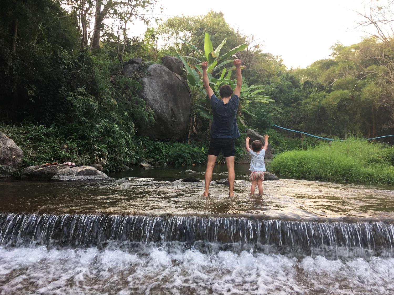Tung Lakorn village  near Chiang Mai