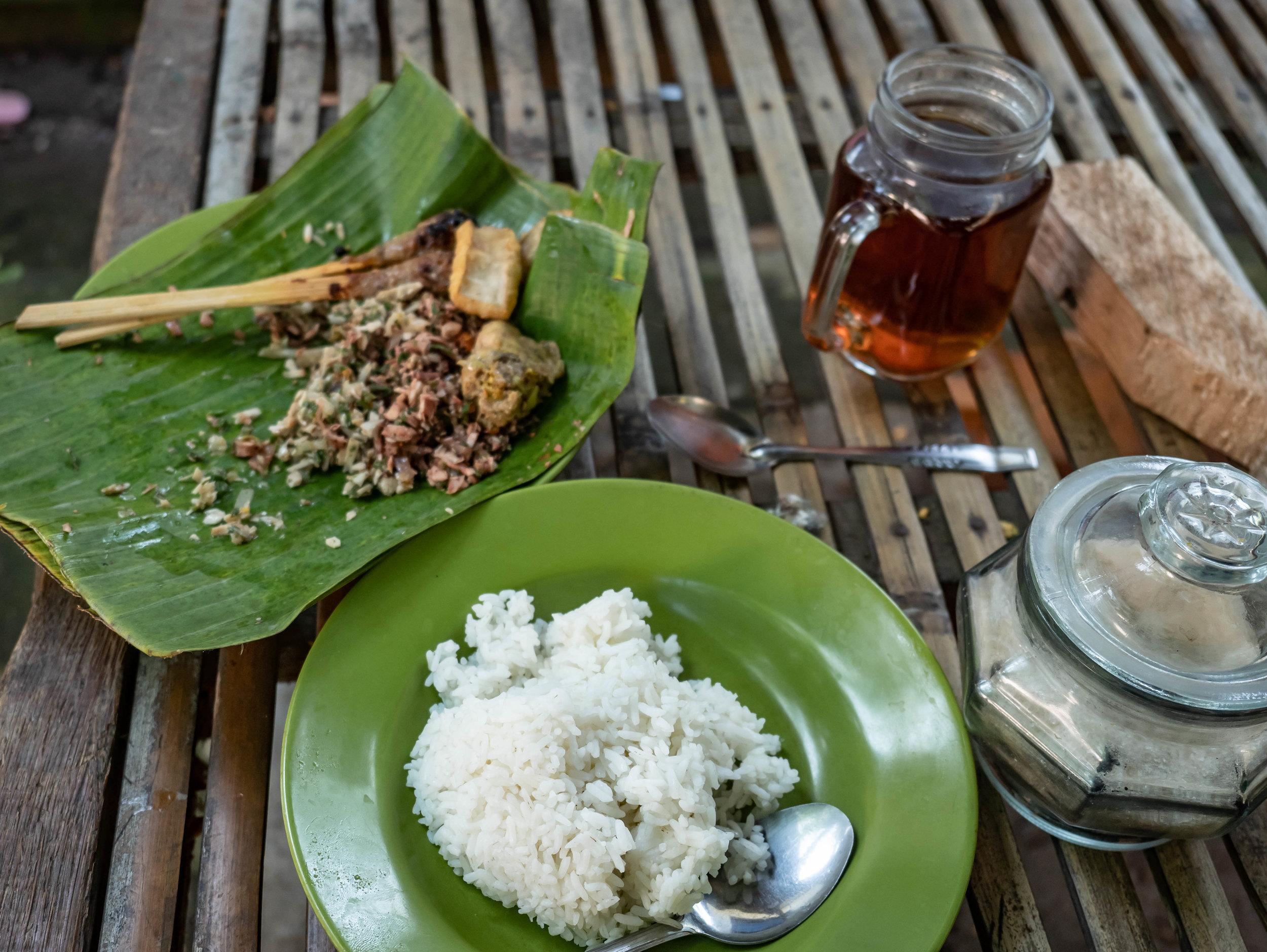 Bali authentic food