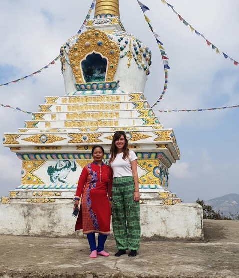 """I learned so much about the culture, and was taken in by the community as if I was one of their own - cooking with them, exploring with them and learning their language. The hospitality of the people here in    Manikhel    never ceased to amaze me.""   /Nepal"