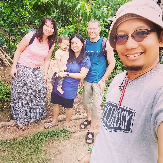 "Our travellers Tereza and Vojtech from Czech Republic satyed in the village of Pong Nam Ron in Chiang Mai,  Thailand, last week! ""Our stay was perfect. Jane and Jim are really nice people and we had amazing time there. Thank you for this opportunity!"" **** Thanks for sharing Tereza! 😍🙏 #visitthailand #visitchiangmai #communitybasedtourism #ruraltourism #villagestay #homestaythailand #homestaychiangmai #responsibletourism #supportthelocals #culturalexchange #duaratravels"