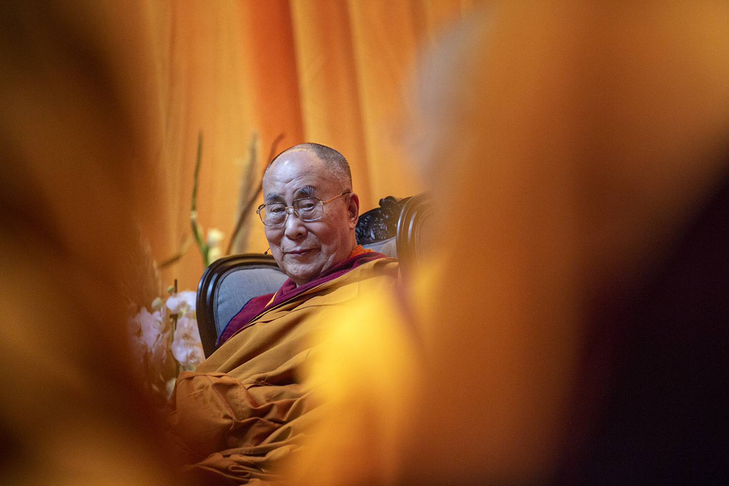 Dalai Lama visits the Netherlands 2018