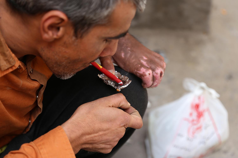 Iran's drug problem