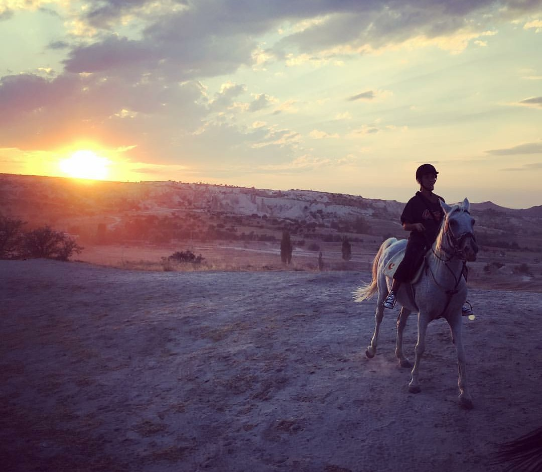 Sunset Horseriding tour