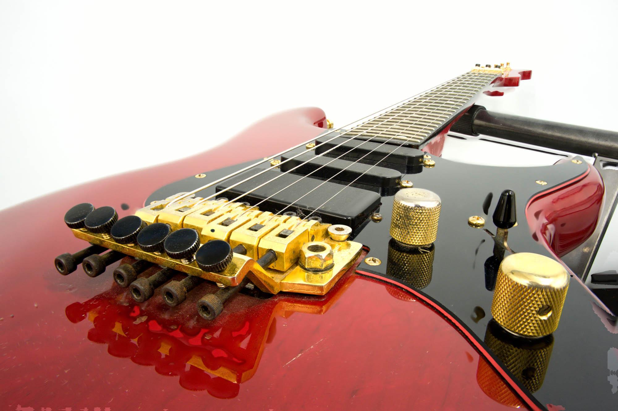 Gitarre - erstellt mittels Focus Stacking