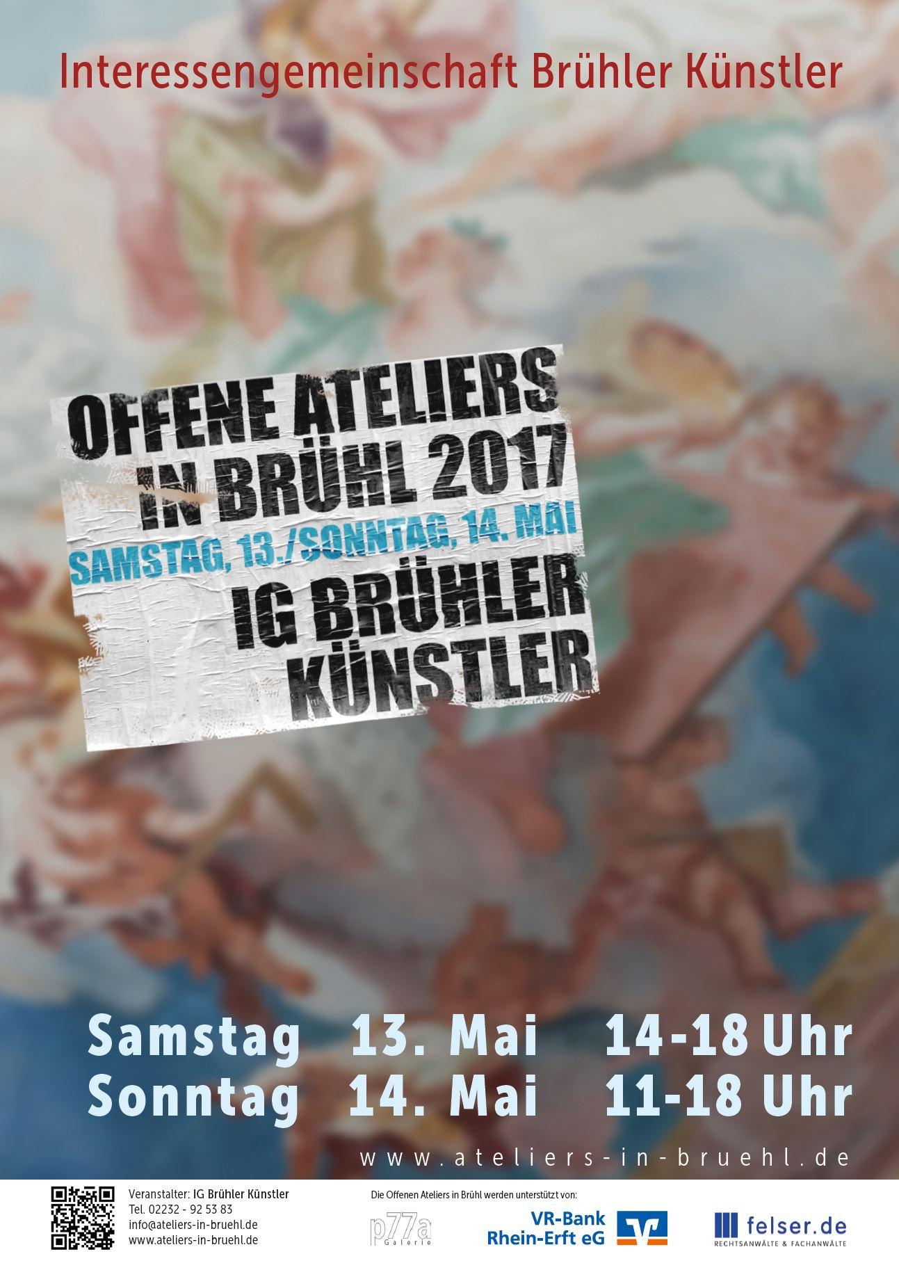 Offene Ateliersin Brühl 2017 -