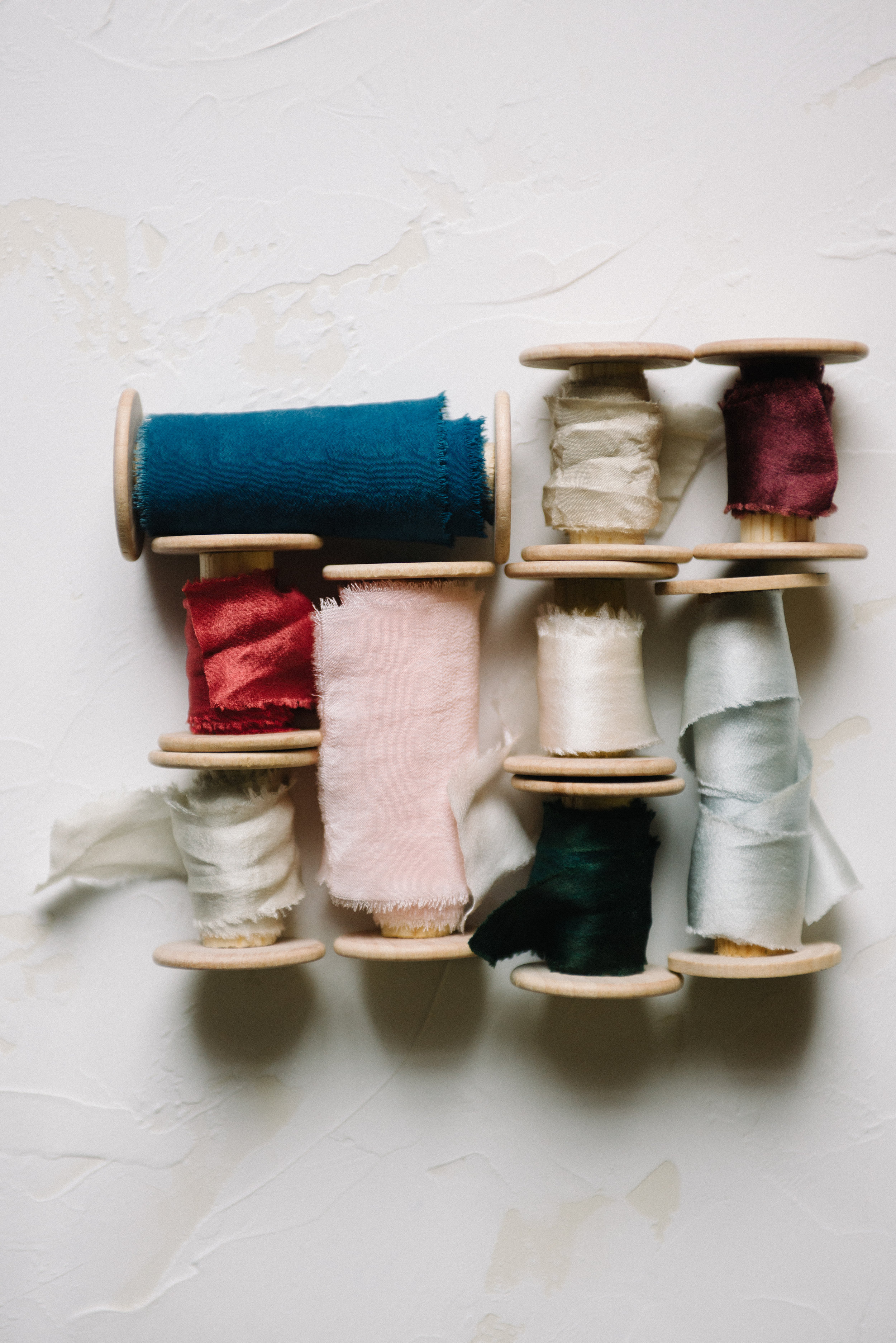Hand-Dyed Ribbon