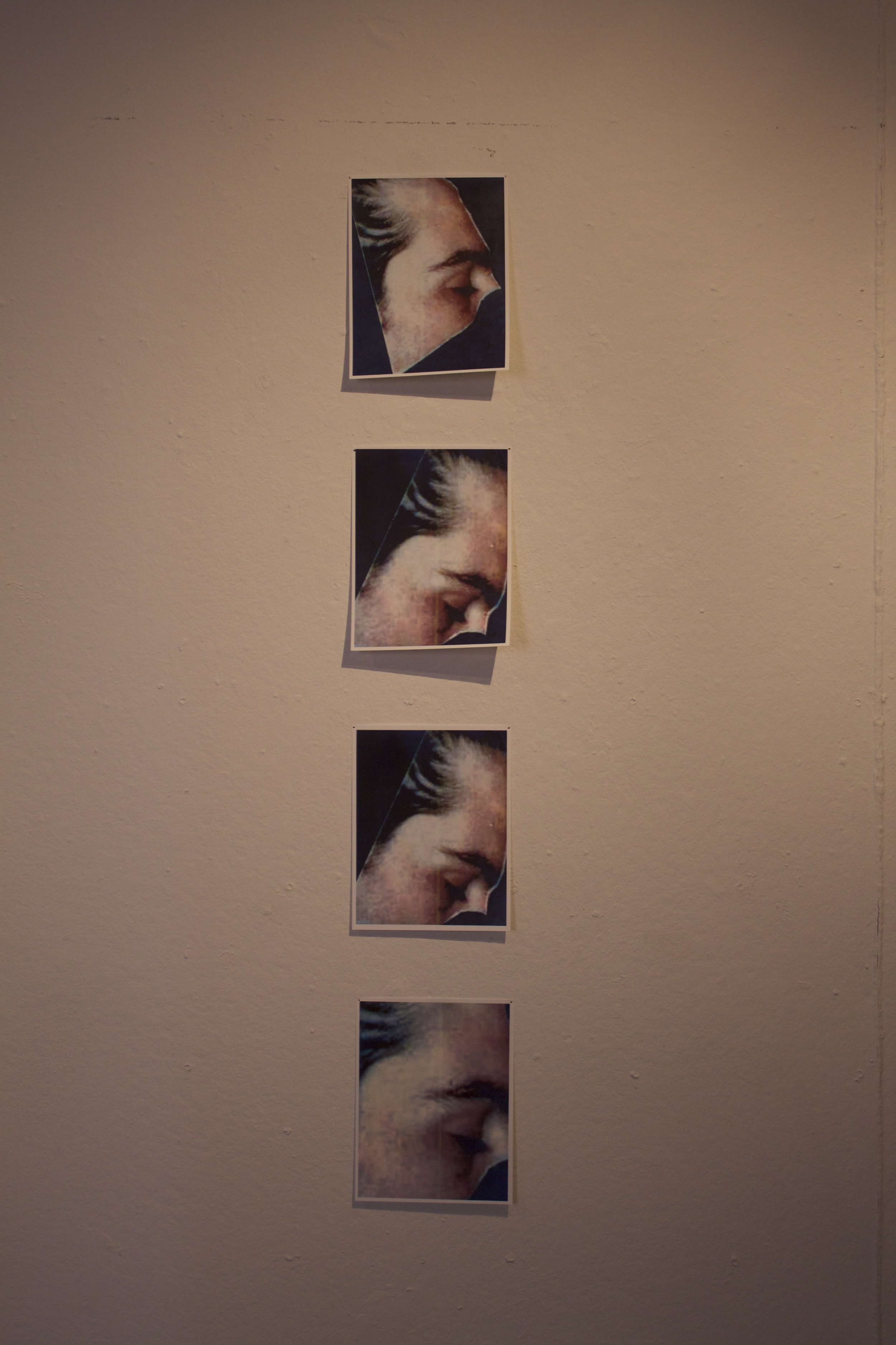 Installation Shot: My Father's Face
