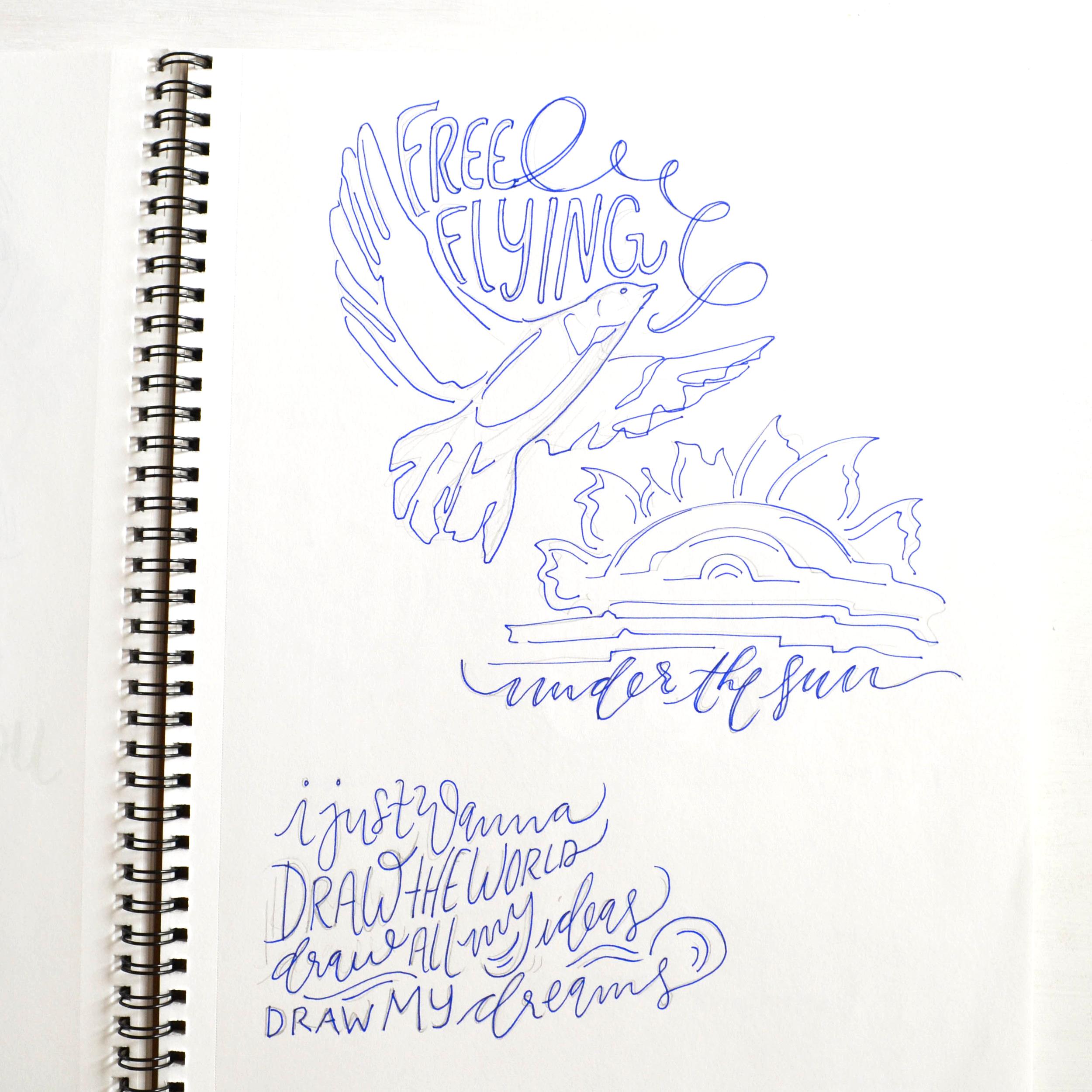 9 | More TV doodles.