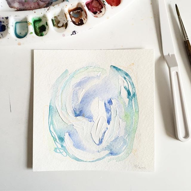 Watercolor, acrylic and pastel on paper. Day 18/100 of #the100dayproject . . Maybe this is the  First year I know myself.  Where I'm not constantly Questioning.  Or am I? Before I'm 30, I'm 29.  That's where I am.  A woman.  A soul.  With purpose.  In a 29 year old body.  What does that say about me?  Nothing important.  But everything other people  Seem to want to know. . . I turned 29 on Friday last week. I don't feel different or old or like 30 seems terrifying. I feel like I'm finally myself and someone I'm pretty darn comfortable with. Bring it on, aging. I'll just be me forever. #limnhouse100days #mixedmedia #abstractart