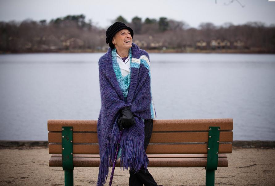 Founder of Promises for Purple, Claire Zampine Muollo 1947-2014