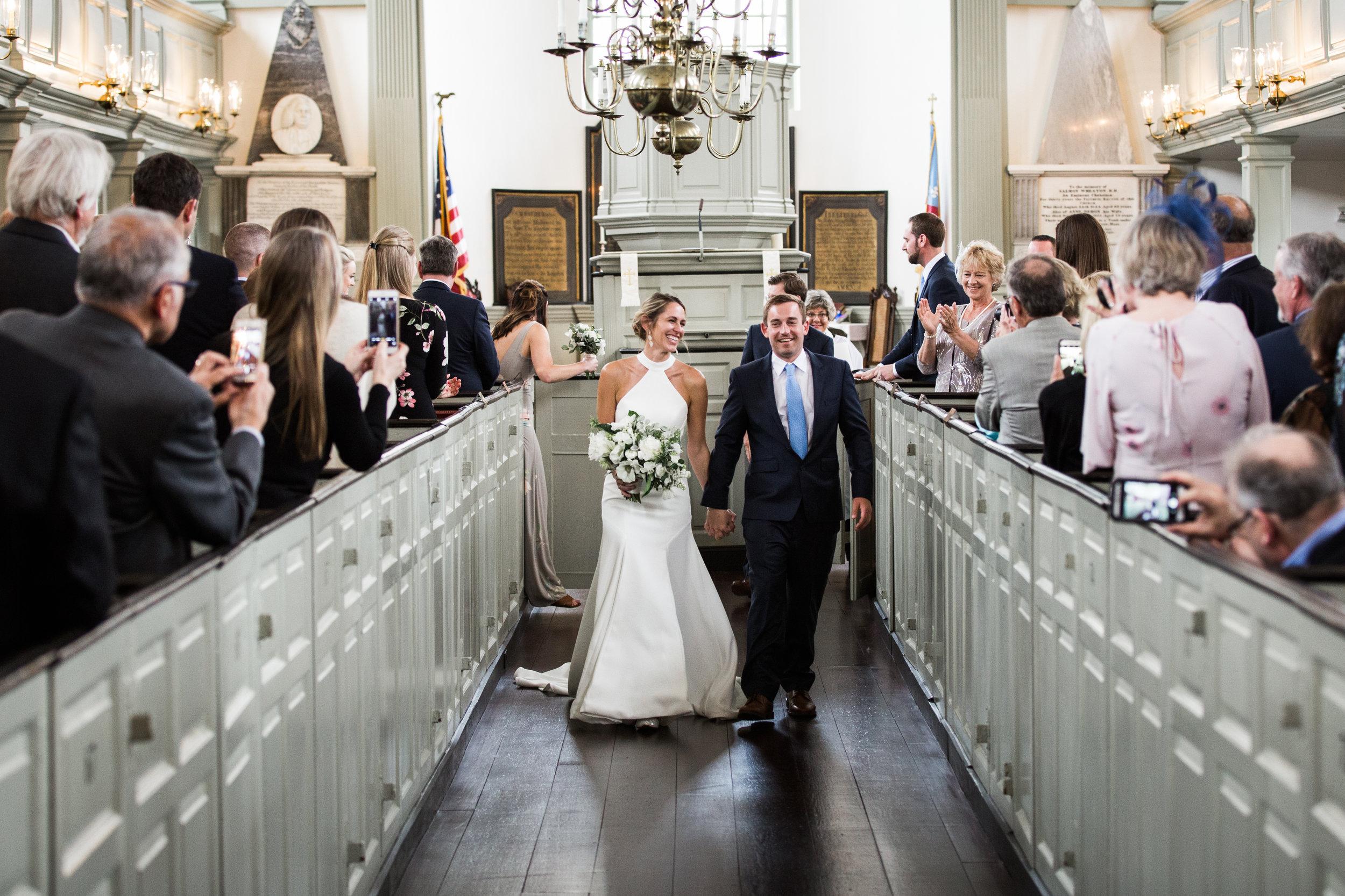 Trinity Church Wedding