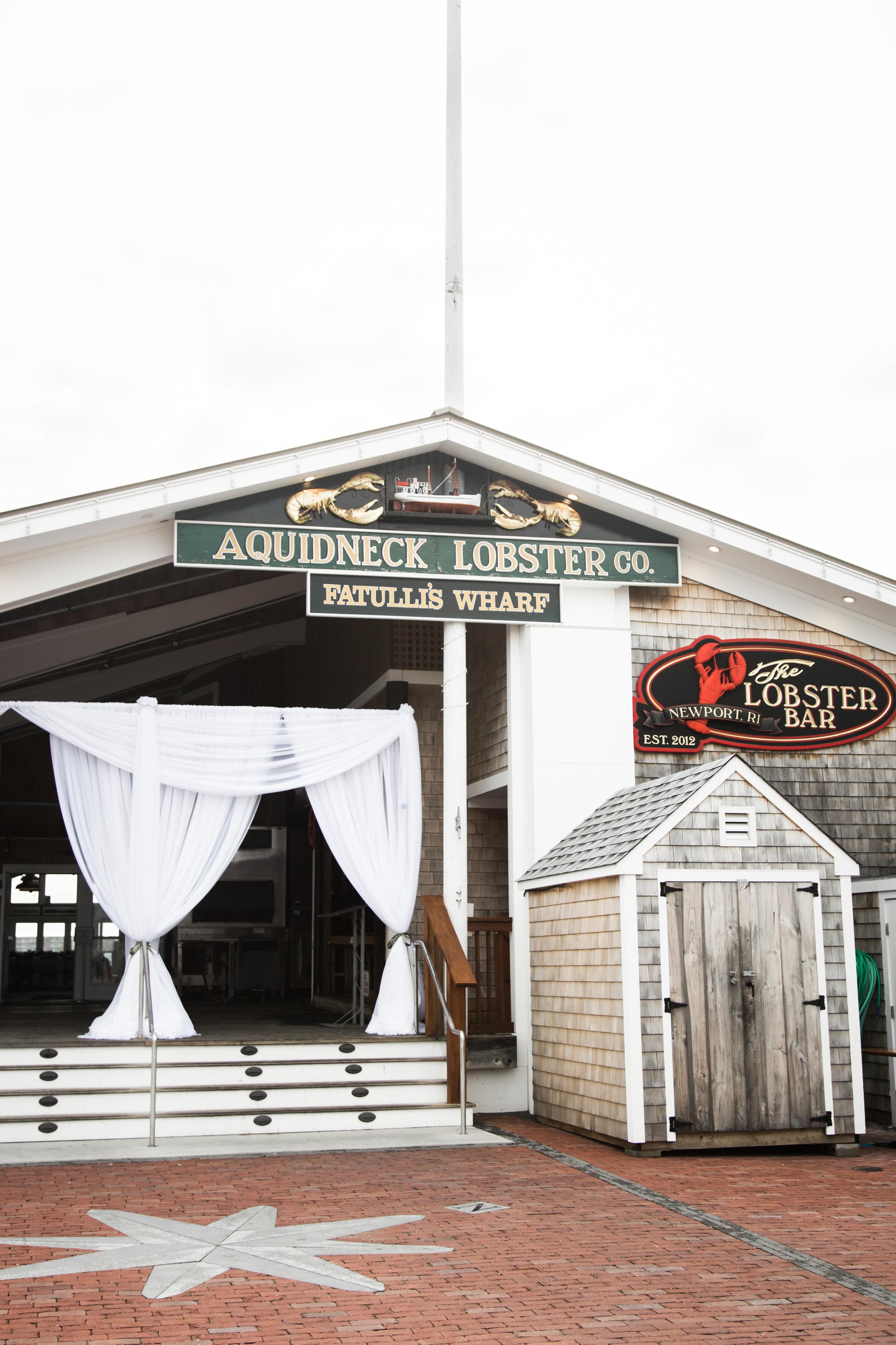 Aquidenck Lobster Bar Newport RI