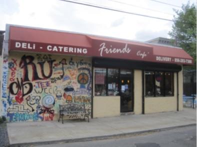 Friends Cafe, circa 2011