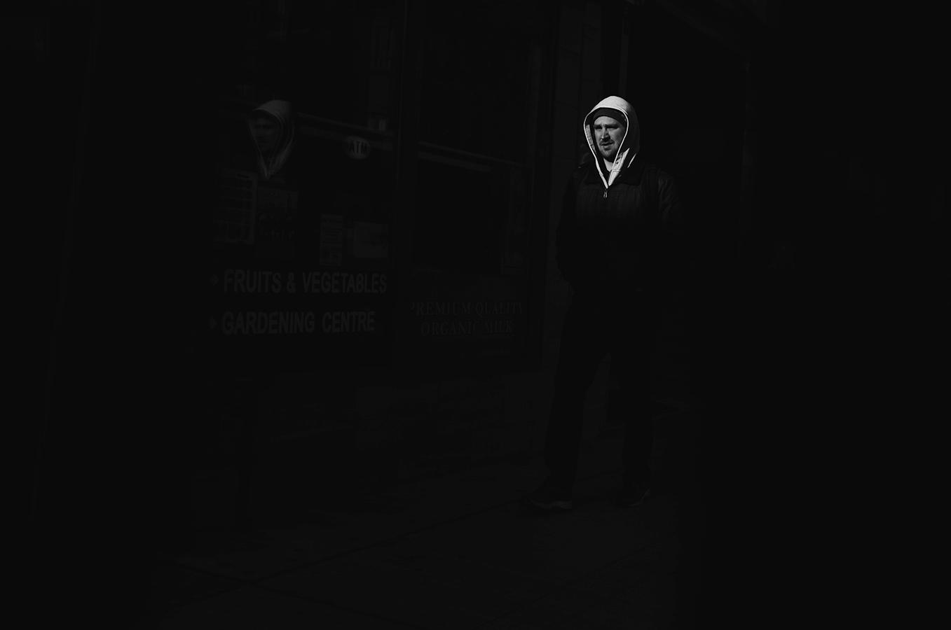 Spots of light along Bloor Street West, Toronto - Fuji X-T10 + XF 18mm f2.0