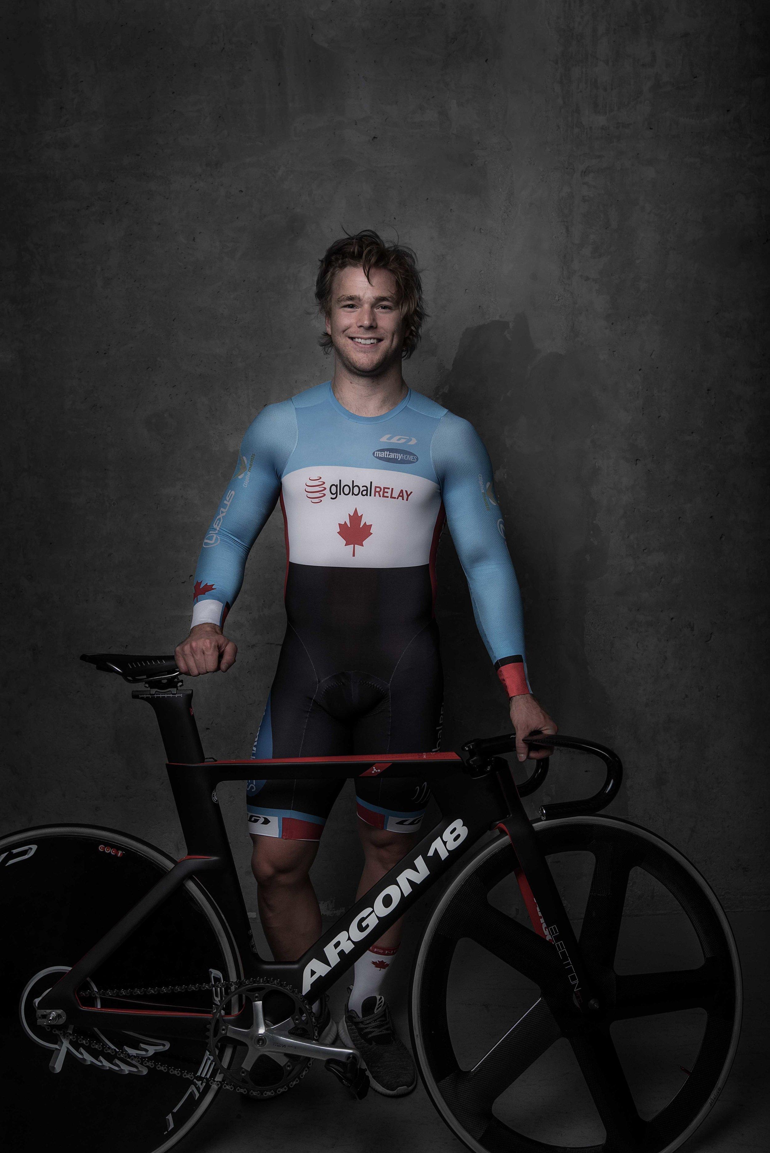 Hugo Barrette Track Cyclist