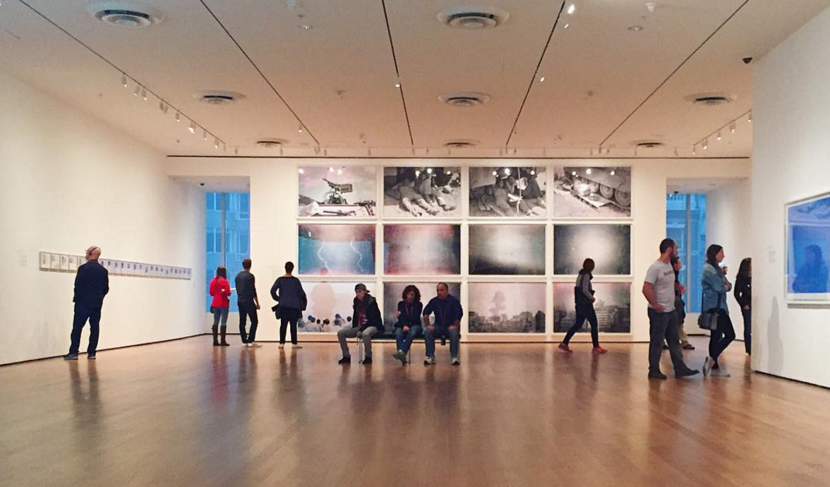 MoMA always amazes me.. (Even when I only take iPhone pictures of it)