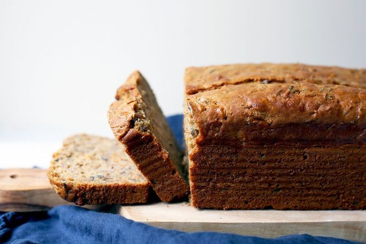 Banana Bread w/Wild Rice Flour