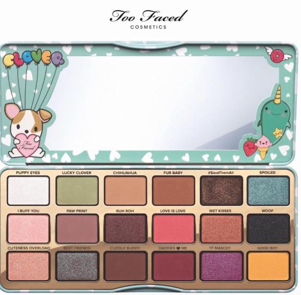 too faced | clover eyeshadow palette via instagram
