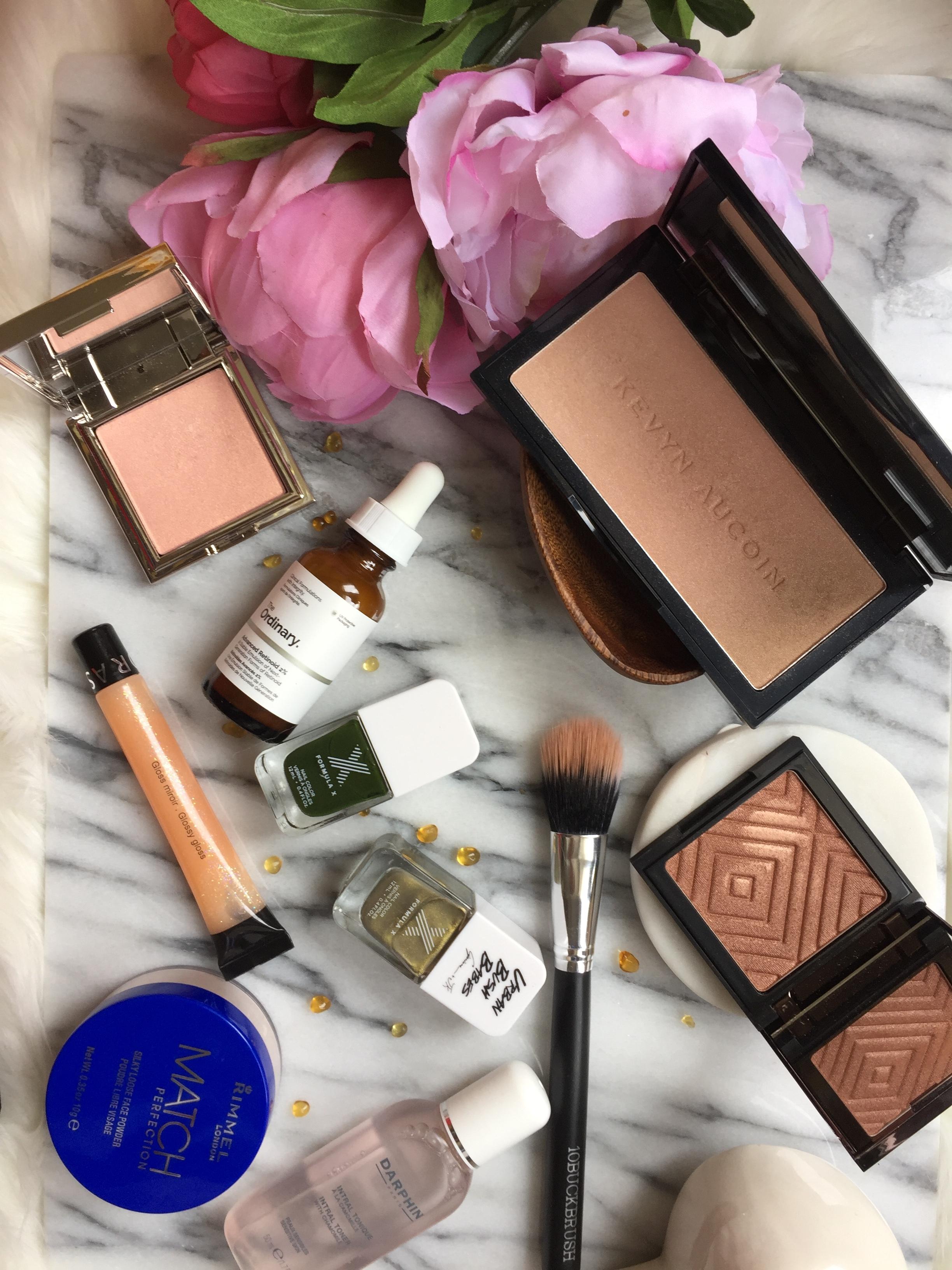 Makeup Geek, Rimmel, Kevyn Aucoin, The Ordinary, Formula X and Sephora   April Favourites