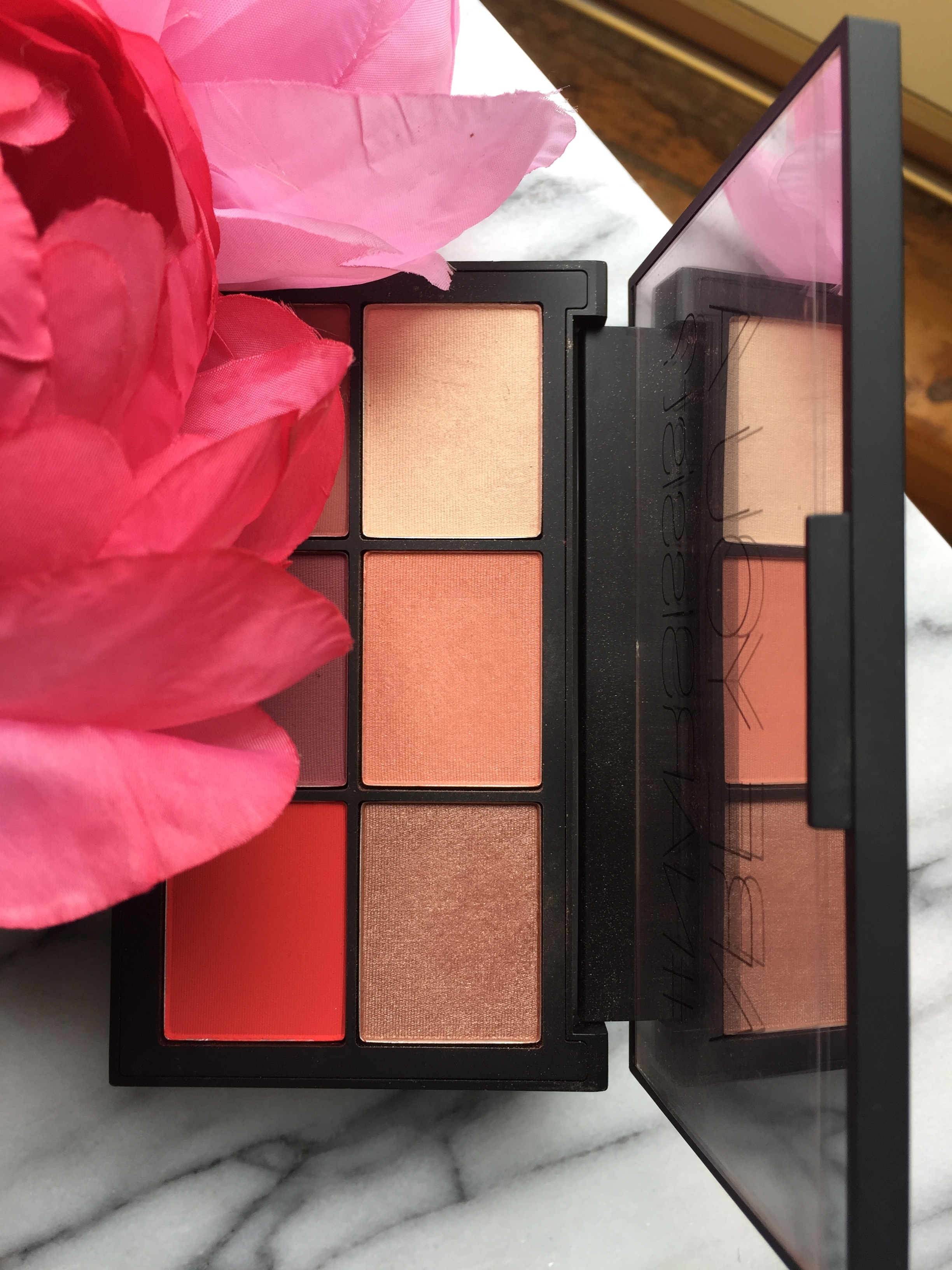 Nars Unfiltered 1 Blush Palette