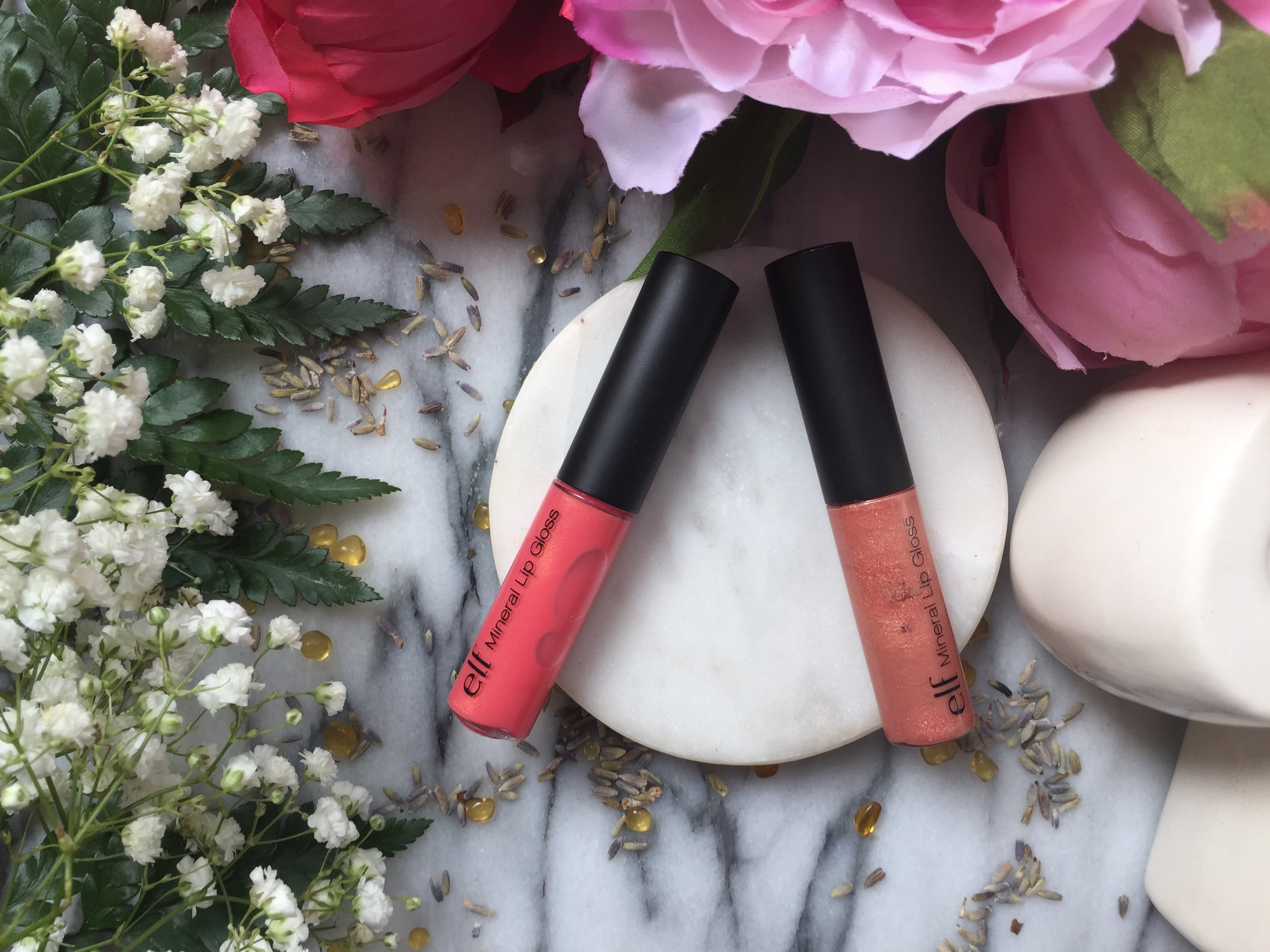 ELF Mineral Lip Gloss | Wild and Au Naturale