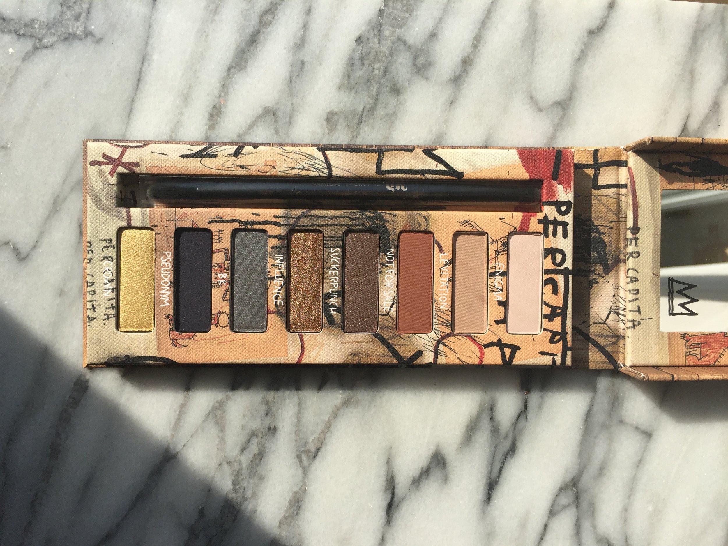 Urban Decay Basquiat Gold Griot