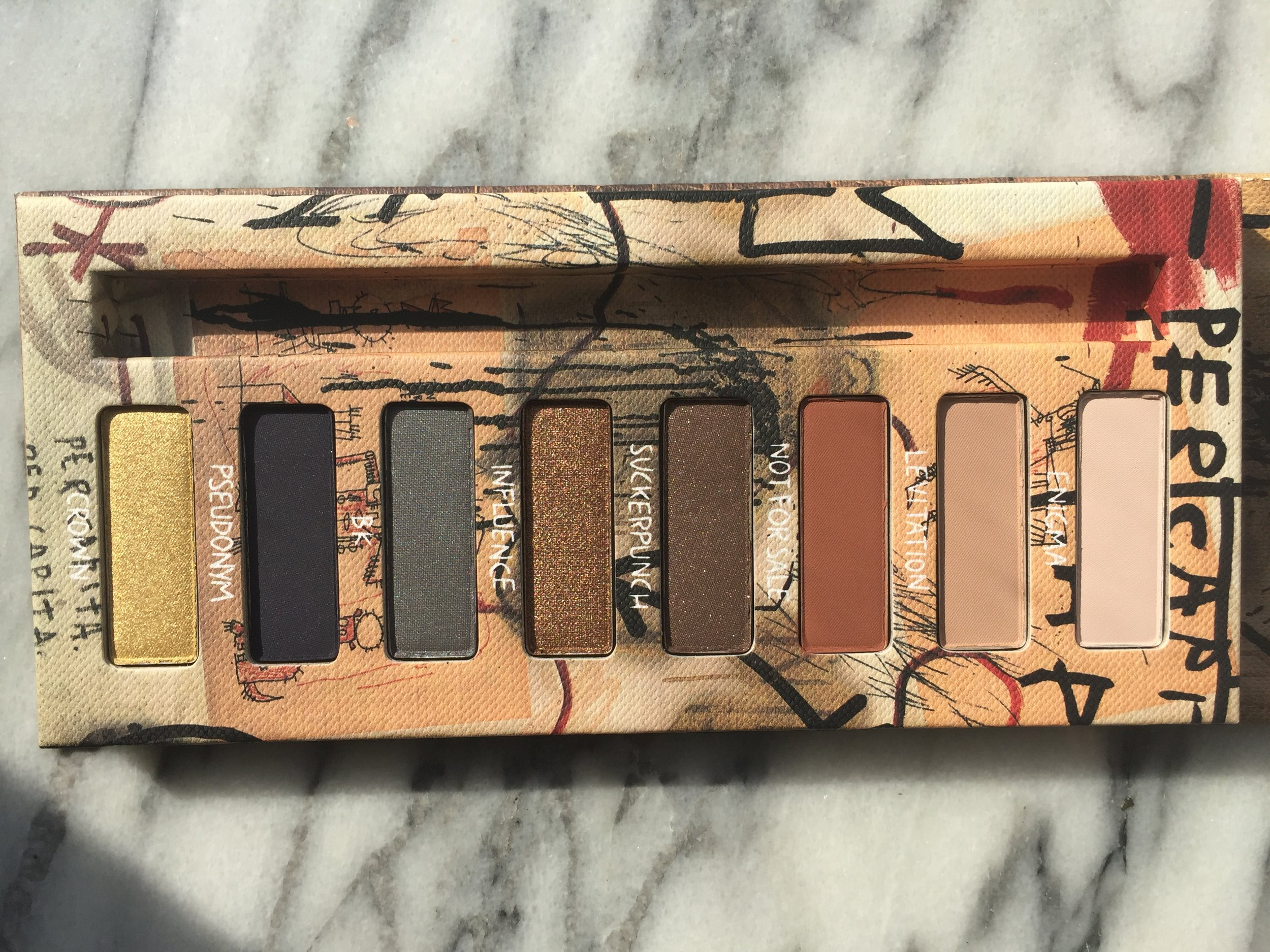 Urban Decay Basquiat Gold Griot Palette