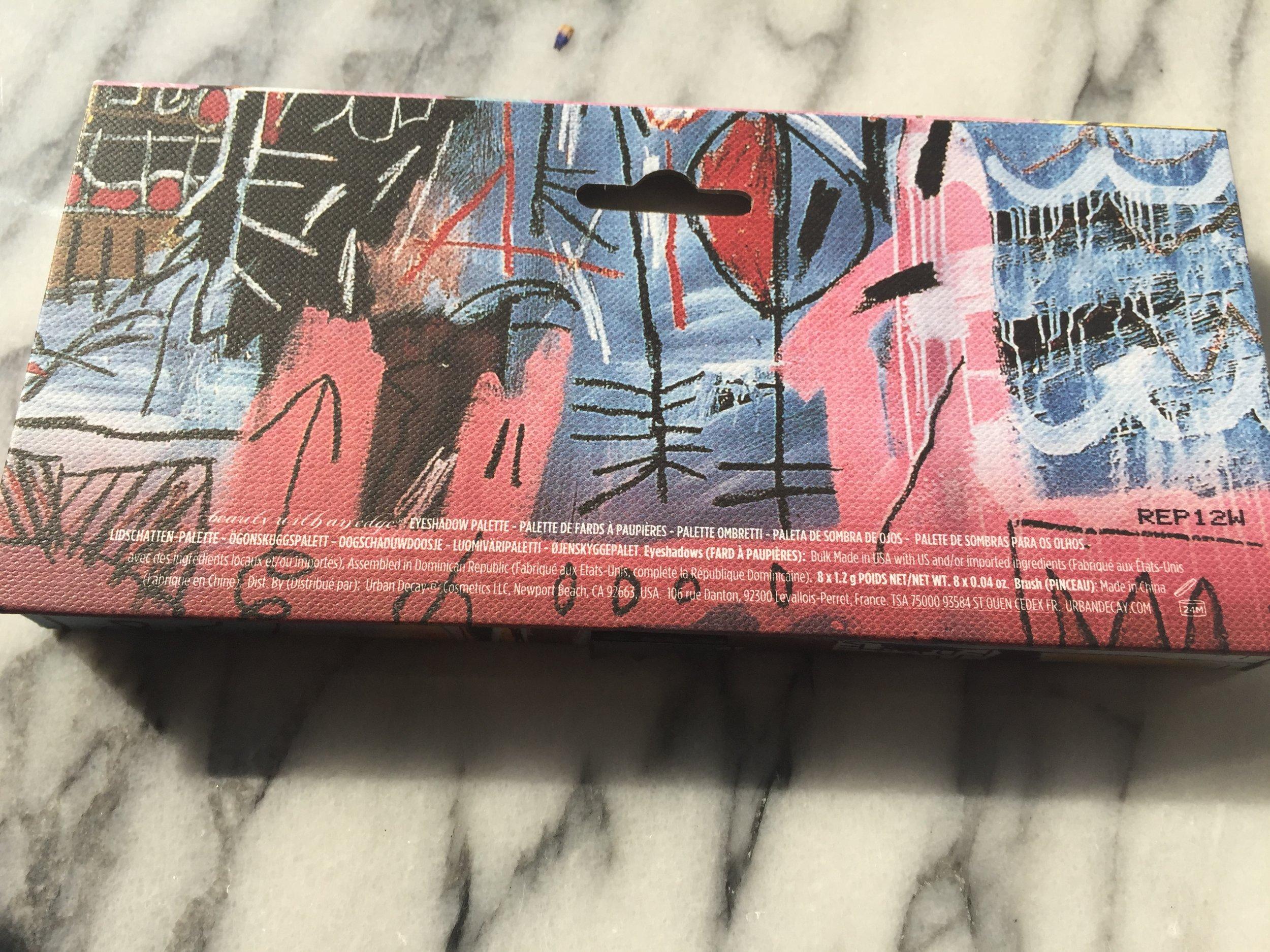 Urban Decay Basquiat Tenant Palette