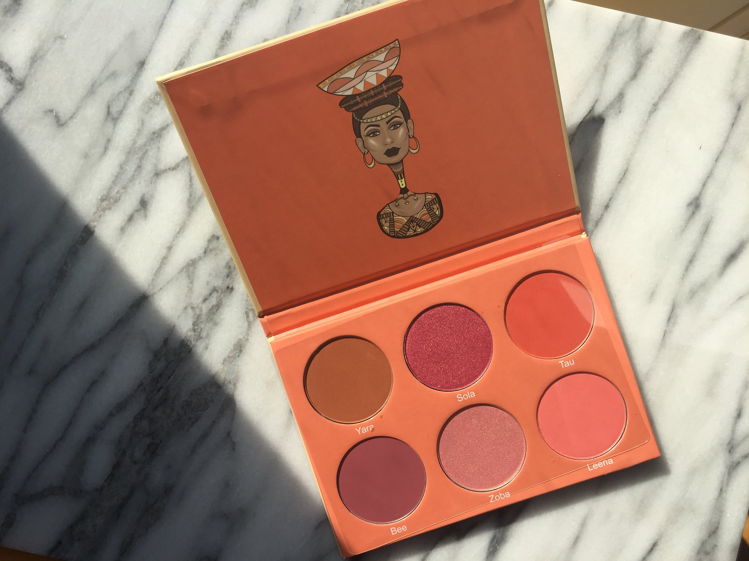 Juvia's place blush palette volume 2