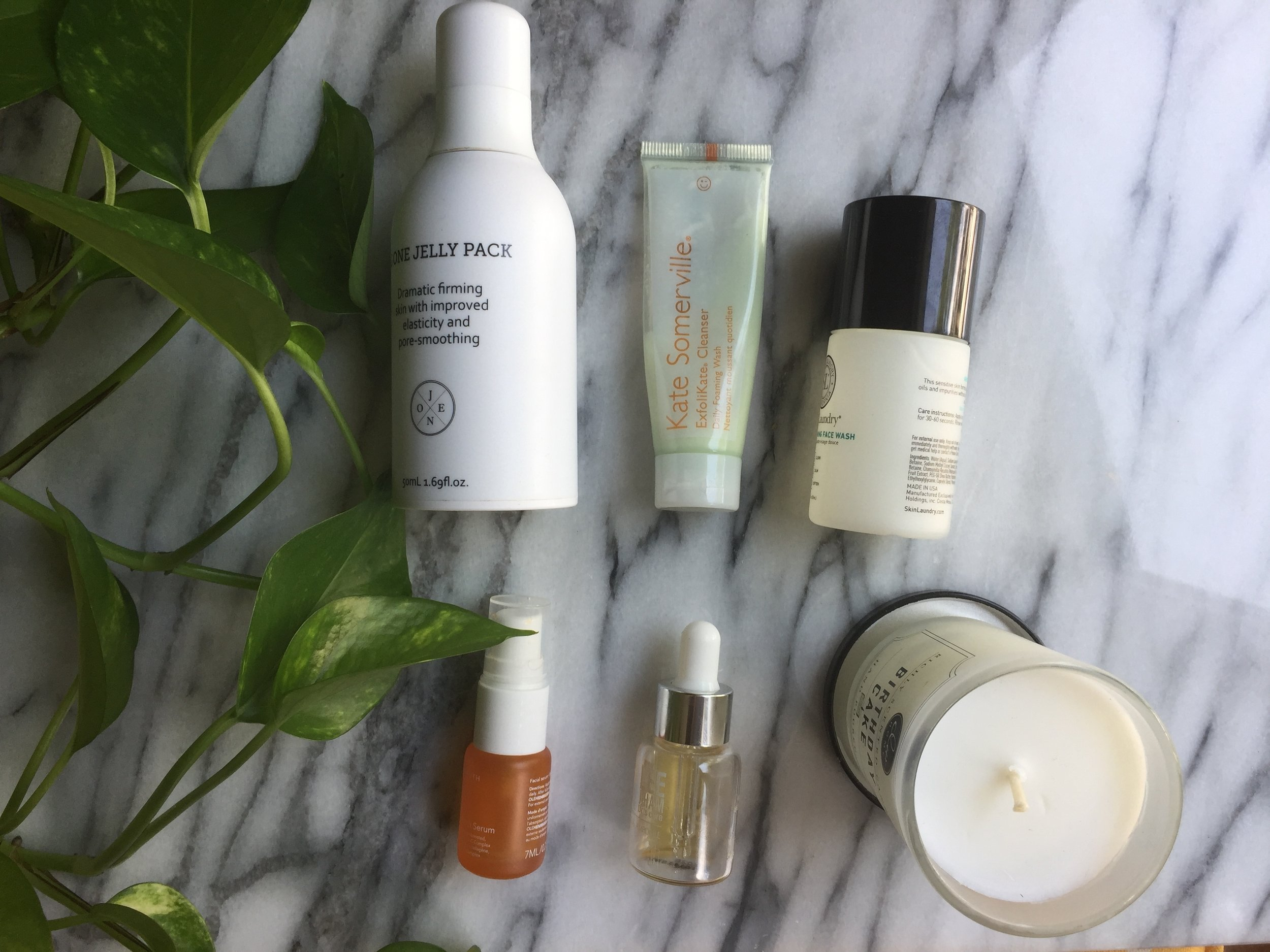 my simplified skin care routine