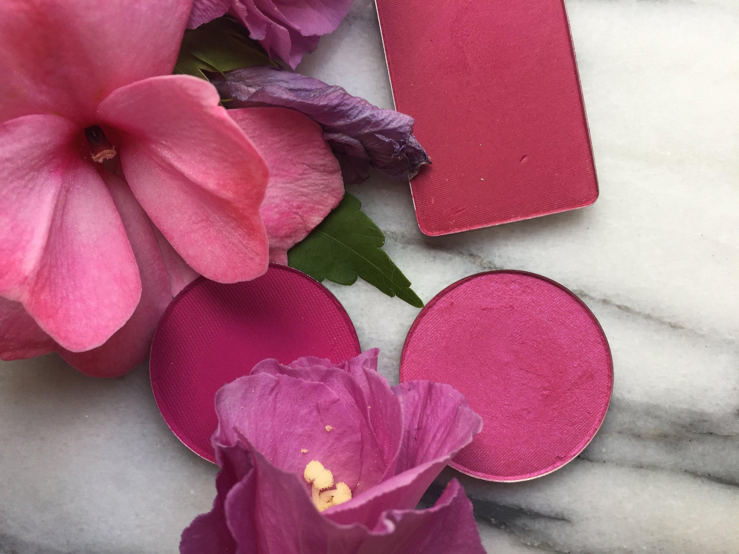 Berry Blushes | Inglot #63 AMC, La Femme Magenta and Rose Chiffon