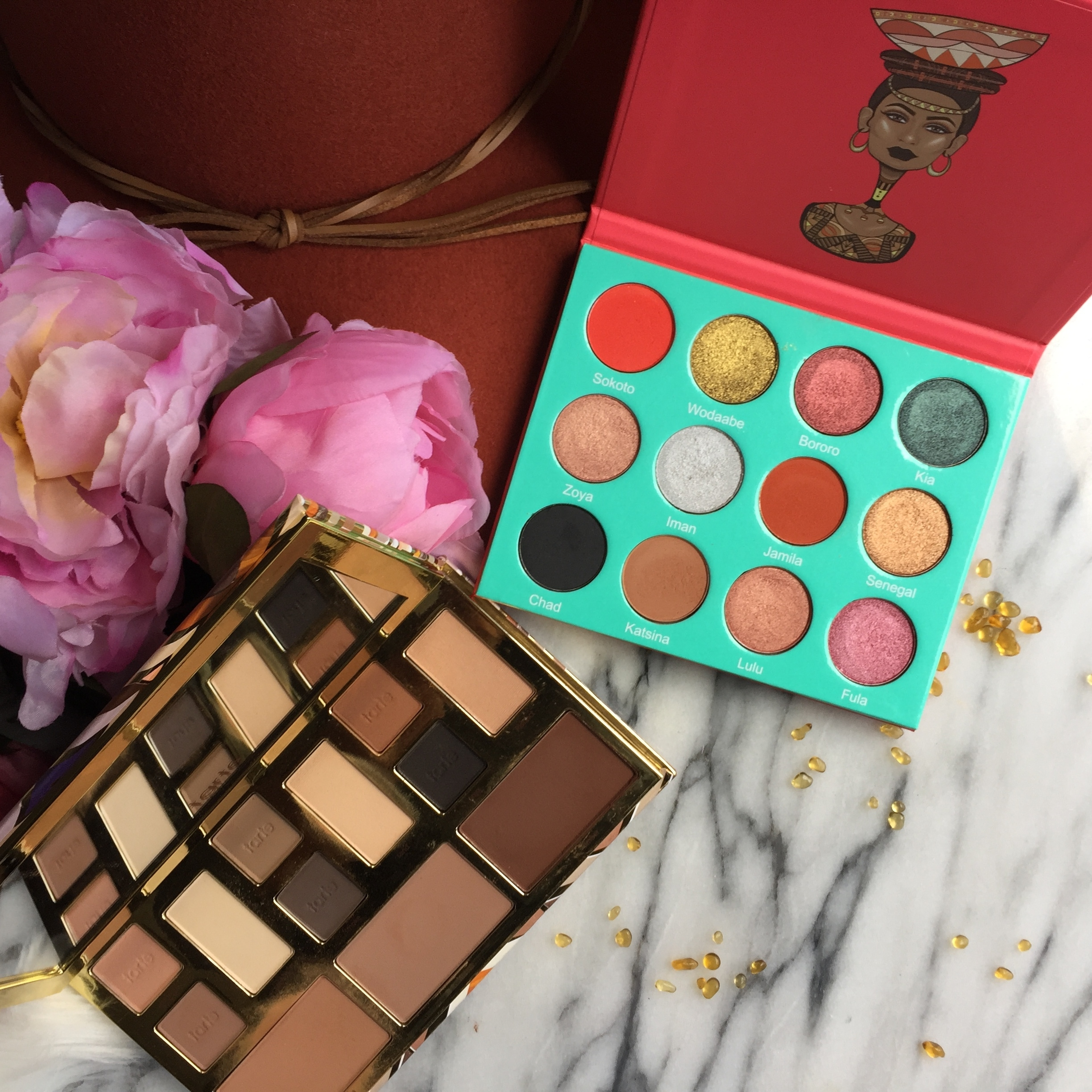 Juvia's Place The Saharan and Tarte Clay Play Face Palette