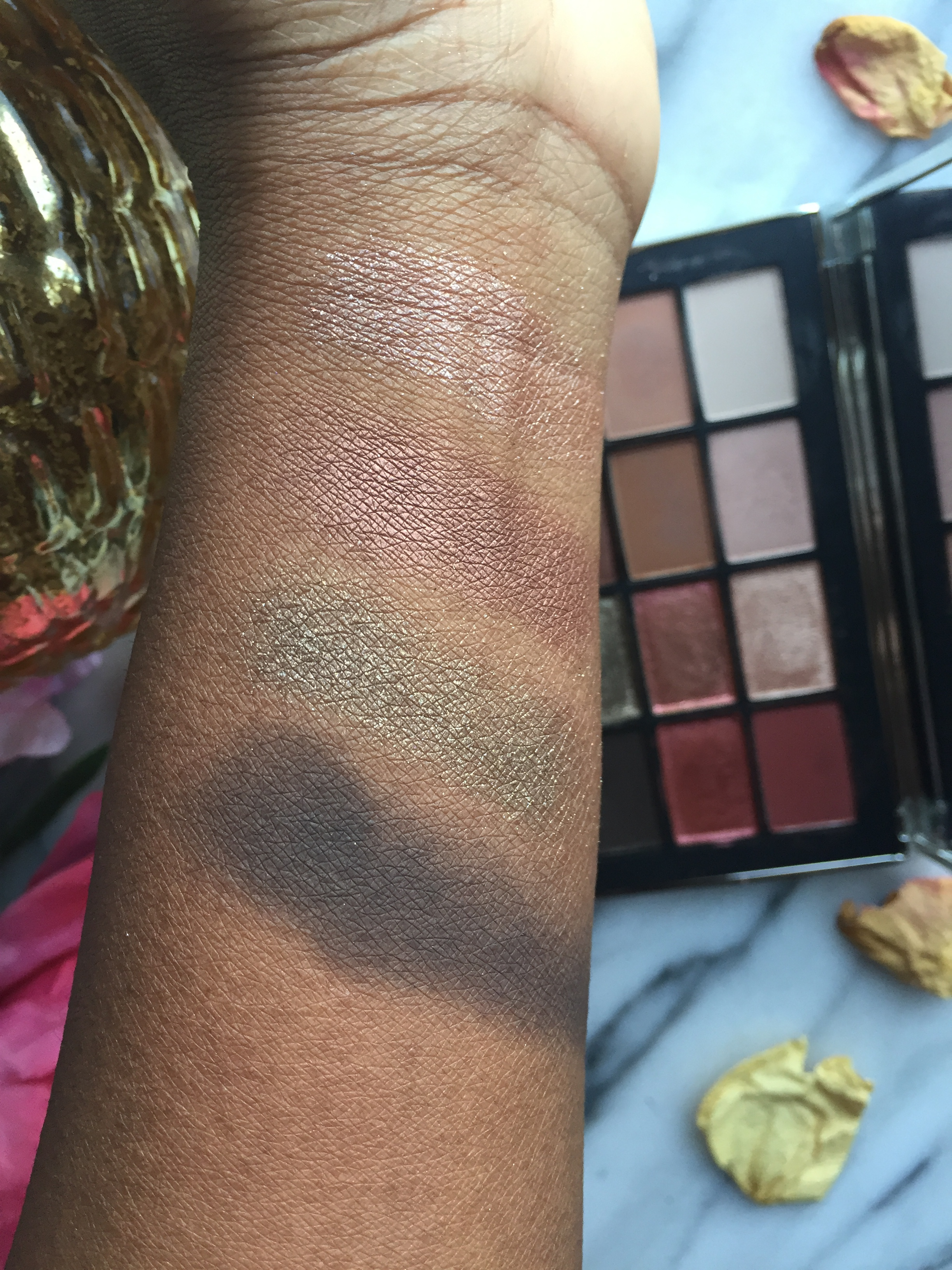 Brush Swatches L to R: Coconut Grove, Fallen Star, LaLa, Shooting Star