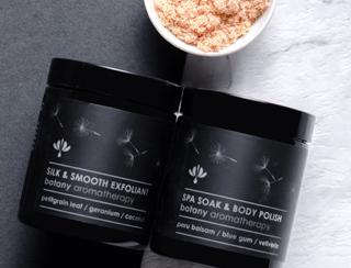Botany Aromatherapy- Silk & Smooth Scrub