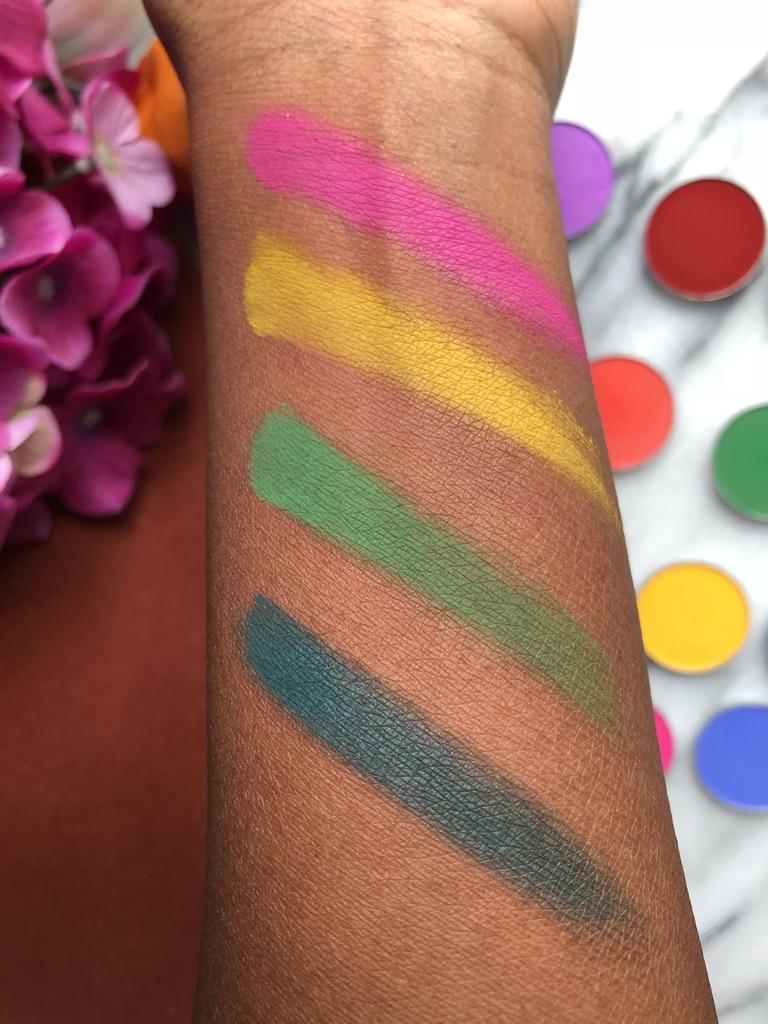 Coloured Raine | L to R: Squad, Level Up, Lemon Drop and Party Drip