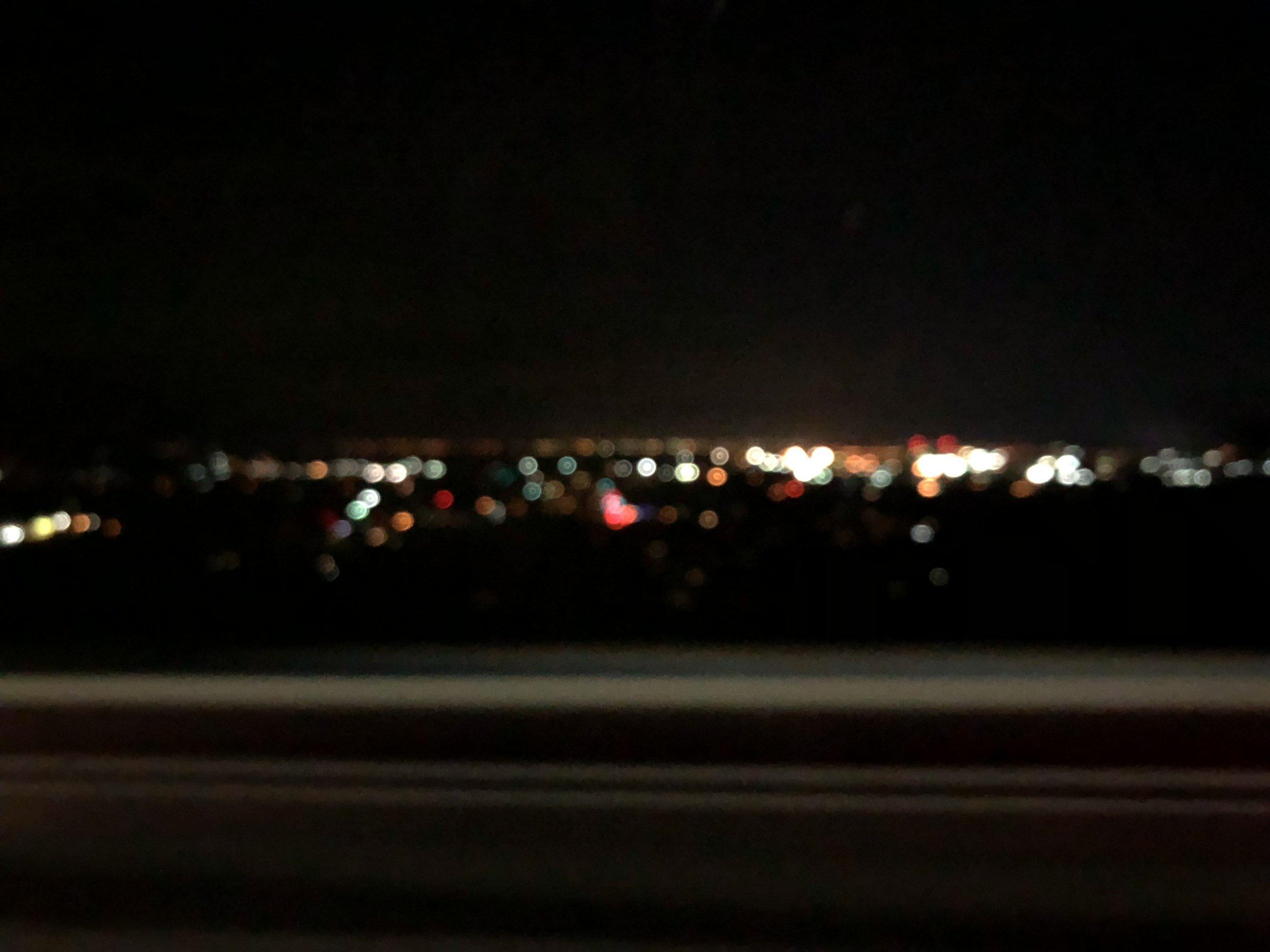 Hamilton Sky Line at Night